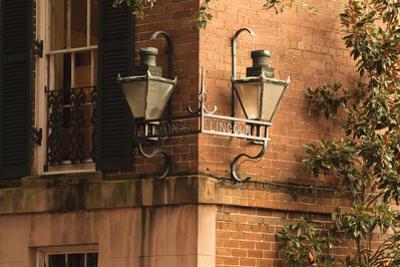USA, Georgia, Savannah, House in the Historic District