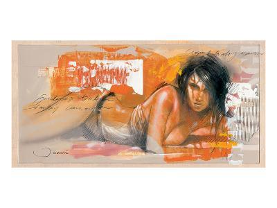 Joanne-Joani-Art Print