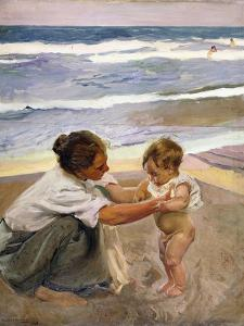 A La Orilla Del Mar, 1908 by Joaqu?n Sorolla y Bastida