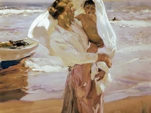 After the Bath by Joaqu?n Sorolla y Bastida