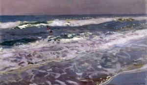 Efecto de Manana en el Mar (Valencia), 1908 by Joaqu?n Sorolla y Bastida