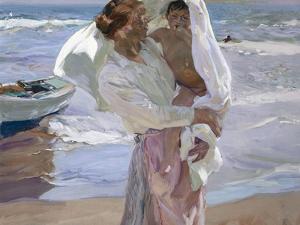 Just Out of the Sea, 1915 by Joaqu?n Sorolla y Bastida