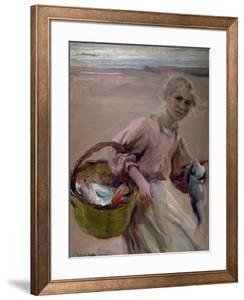 Pescadora Valenciana, 1900 by Joaqu?n Sorolla y Bastida