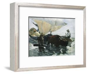 The Return from Fishing by Joaqu?n Sorolla y Bastida