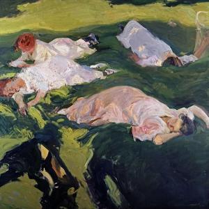 The Siesta, 1912 by Joaqu?n Sorolla y Bastida