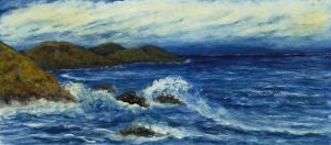 Marina, 19th Century by Joaquin Clausell