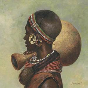 African I by Joaquin Moragues