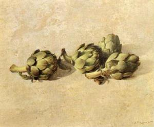 Artichokes by Joaquin Moragues