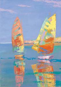 Boat Race II by Joaquin Moragues