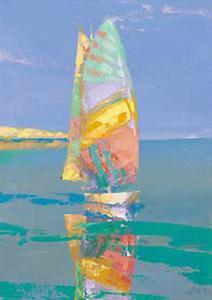 Boat Race III by Joaquin Moragues