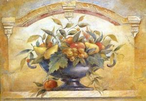 Italian Fresco II by Joaquin Moragues