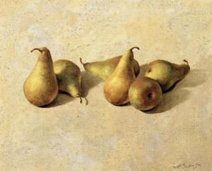 Pears by Joaquin Moragues