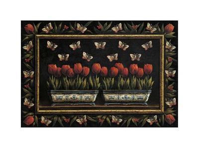 Tulipanes y Mariposas