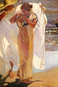 After the Bath, 1908 by Joaquin Sorolla y Bastida