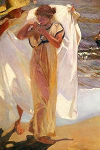 After the Bath, 1908 by Joaquin Sorolla y Bastida