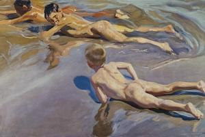 Children on the Beach by Joaquín Sorolla y Bastida
