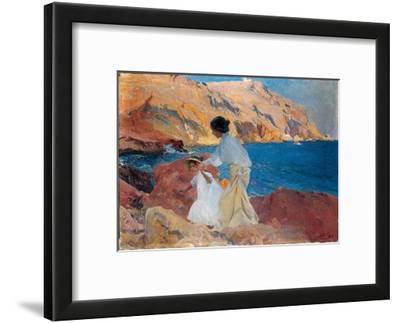 Clotilde and Elena on the Rocks, Javea, 1905