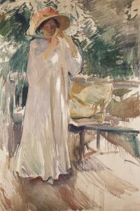 Clotilde in Her Garden, 1910 by Joaquín Sorolla y Bastida