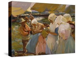 Fischerwomen on the Beach, 1903 by Joaquín Sorolla y Bastida