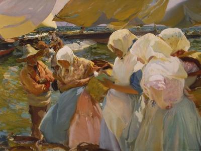 Fischerwomen on the Beach, 1903