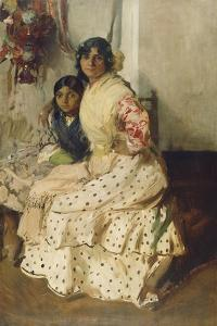 Pepilla the Gypsy and Her Daughter, 1910 by Joaquin Sorolla y Bastida