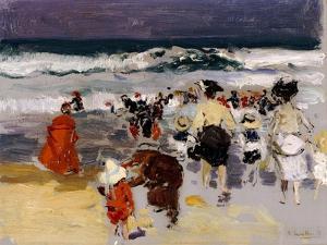 Playa de Biarritz, 1906 by Joaquín Sorolla y Bastida