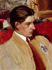 Self Portrait in Profile by Joaquín Sorolla y Bastida
