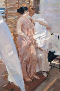 The Pink Robe, After the Bath, 1916 by Joaquin Sorolla y Bastida