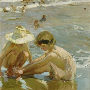 The Wounded Foot, 1909 by Joaquin Sorolla y Bastida