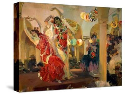 Women Dancing Flamenco at the Café Novedades in Seville, 1914