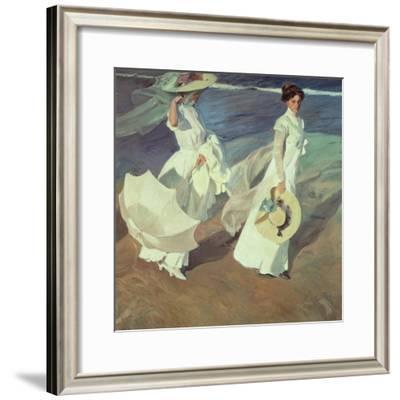 Women Walking on the Beach, 1909