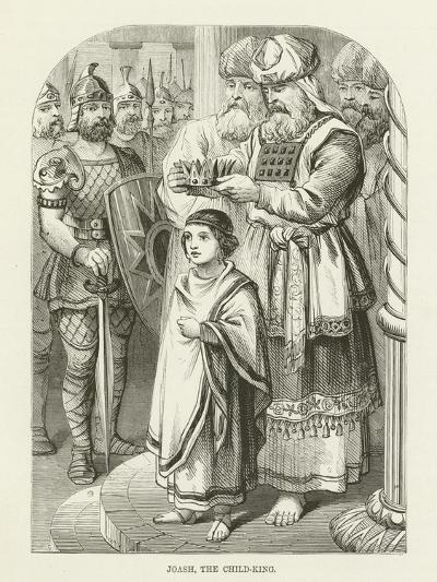 Joash, the Child-King--Giclee Print