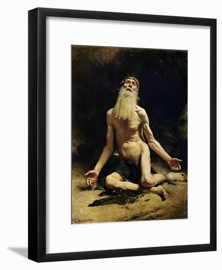 Job-Leon Joseph Florentin Bonnat-Framed Giclee Print