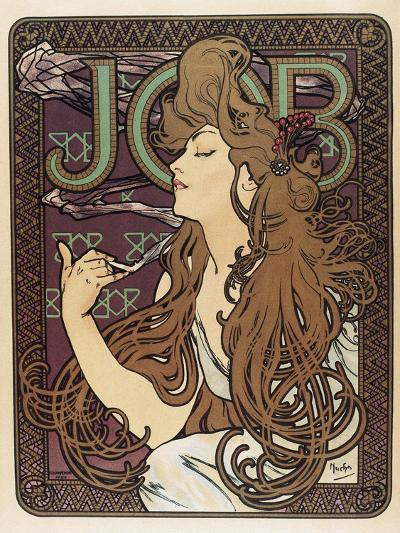 Job-Alphonse Mucha-Art Print