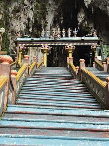 Batu Caves, Hindu Shrine, Selangor, Malaysia, Southeast Asia, Asia by Jochen Schlenker