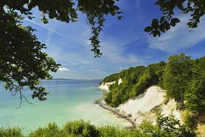 Chalk Cliffs, Jasmund National Park, Ruegen Island, Mecklenburg-Vorpommern, Germany, Europe by Jochen Schlenker