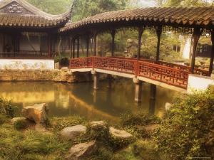 Humble Administrator's Garden, Unesco World Heritage Site, Souzhou (Suzhou), China, Asia by Jochen Schlenker
