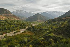 Imlil Valley and Toubkal Mountains, High Atlas, Morocco, North Africa, Africa by Jochen Schlenker