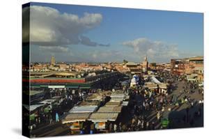 Jemaa El Fna, Medina, Marrakesh, Morocco, North Africa, Africa by Jochen Schlenker