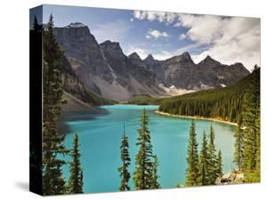 Moraine Lake, Banff National Park, UNESCO World Heritage Site, Rocky Mountains, Alberta, Canada by Jochen Schlenker