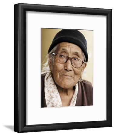 Portrait of a Tibetan Woman, Mcleod Ganj, Dharamsala, Himachal Pradesh State, India