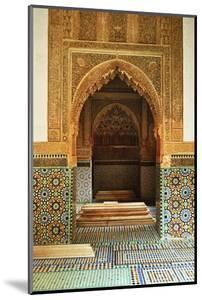 Saadian Tombs, Medina, Marrakesh, Morocco, North Africa, Africa by Jochen Schlenker