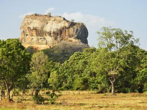 Sigiriya (Lion Rock), UNESCO World Heritage Site, Sri Lanka, Asia by Jochen Schlenker