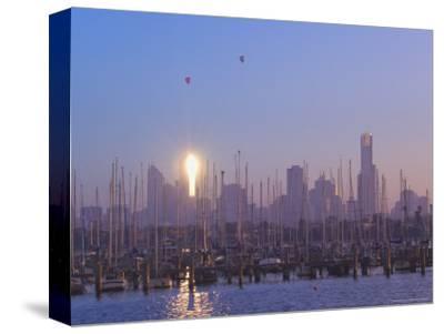 St. Kilda Harbour and Melbourne Skyline, Melbourne, Victoria, Australia, Pacific