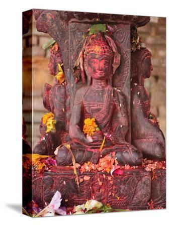 Statue, Patan, Bagmati, Central Region (Madhyamanchal), Nepal, Asia