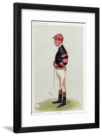 Jockey, WT Templeman VF-Leslie Ward-Framed Giclee Print