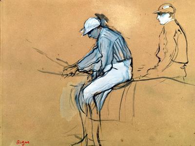 Jockeys-Edgar Degas-Giclee Print
