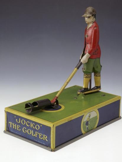 Jocko the Golfer, toy, American, c1920-Unknown-Giclee Print