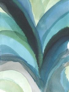 Big Blue Leaf I by Jodi Fuchs