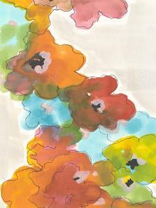Floral Cascade II by Jodi Fuchs